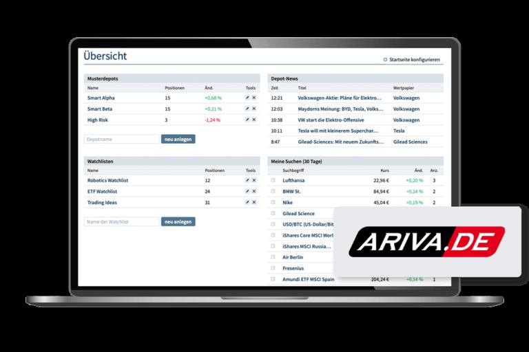 Client Ariva Depot laptop