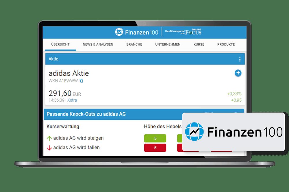 Client Finanzen100 laptop