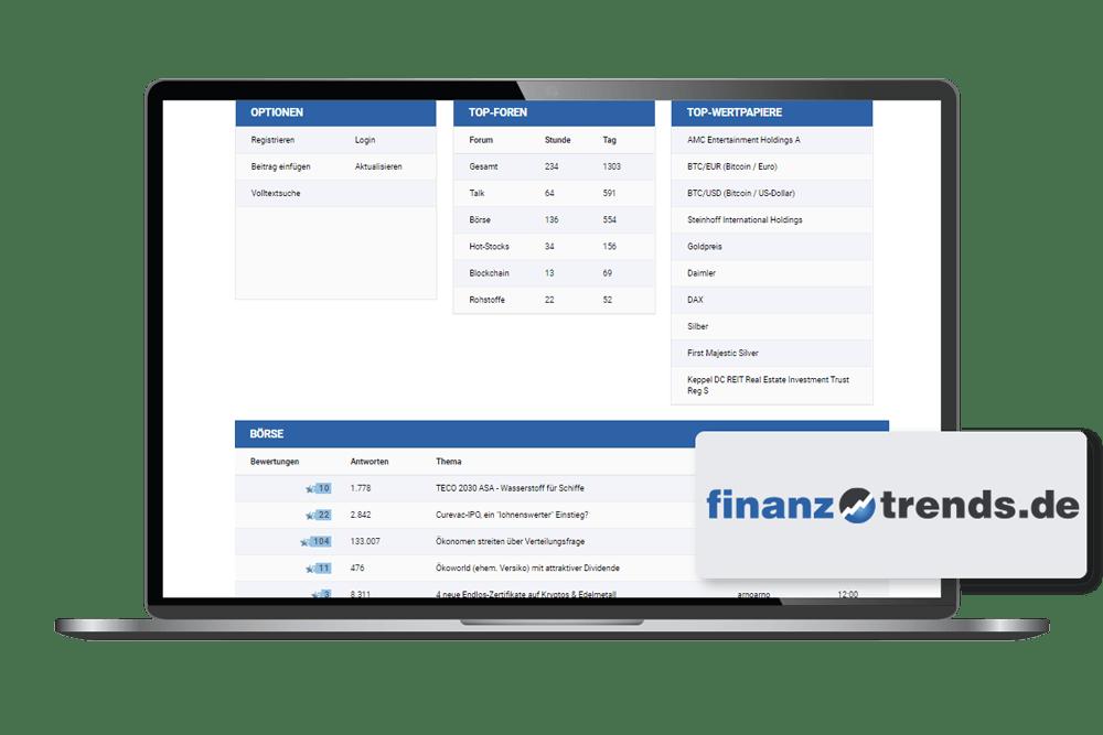 Client Finanztrends laptop